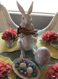 Easter Bunny - Spring Home Decor