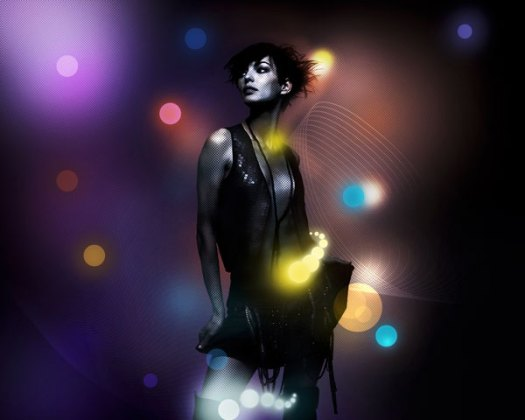 How to Create a Beautiful Abstract Artwork using Light Effects in Photoshop CS5