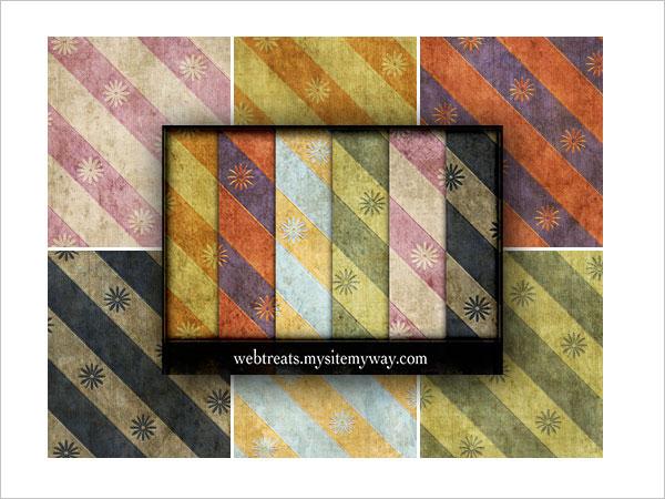Grungy Vintage Patterns Part 4