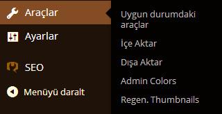 Admin Colors
