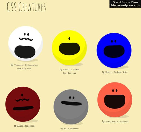 css-creatures