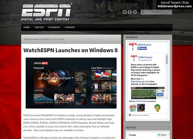 wordpress-espn