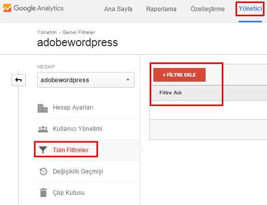 Google-Analytics-Filtre-Adobewordpress
