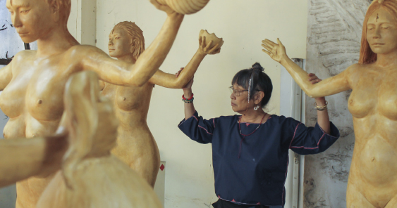 Fruit of Her Womb: Agnes Arellano as Sculptor and Woman Artist