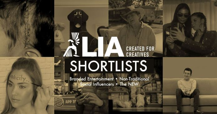 LIA 2019: Shortlists Revealed for Branded Entertainment, Non-Traditional, Social Influencers and The NEW in This Year's London International Awards