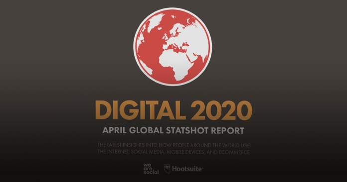 """Intelligence: How Digital Behaviours have Changed in Lockdown, We Are Social's latest """"Digital 2020"""" Q1 Report"""