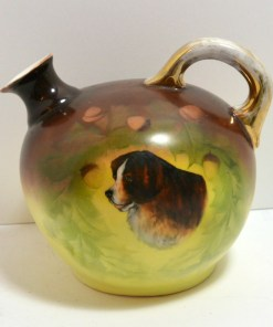 Antique Vienna Austria Jug Side 11- Dog's Tale Collectibles