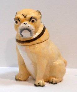 Victorian English Pug Dog Front - Dog's Tale Collectibles