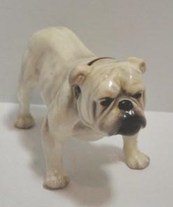Royal Doulton Bulldog fnt- Dog's Tale Collectibles