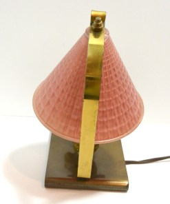 Brass and Glass Scottie Dog Lamp Back101- Dog's Tale Collectibles