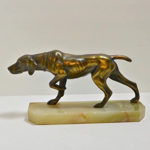 vintage pointer dog
