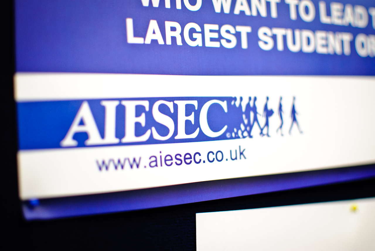AIESEC largest students-run organisation AIESEC UK photo