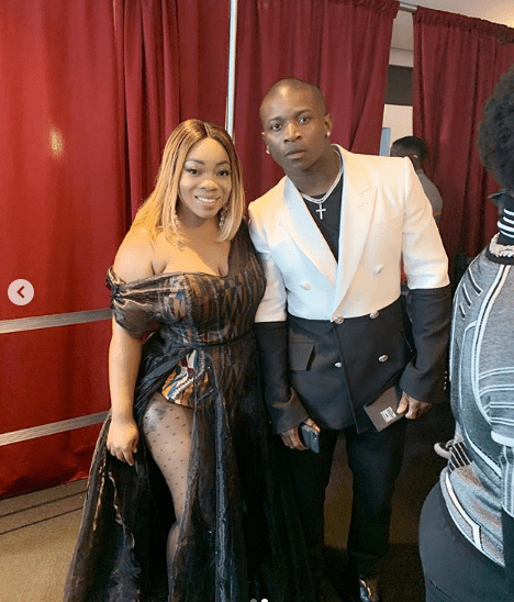 Moesha Boduong and USA rapper OT Genasis
