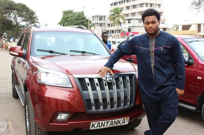 CEO Of Kantanka Automobiles, Kwadwo Sarfo Jnr Set To Mentor Kelvin Odartey