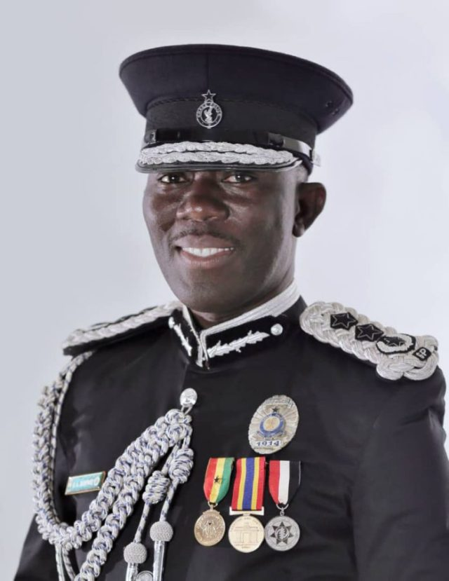 COP Dr George Akuffo Dampare