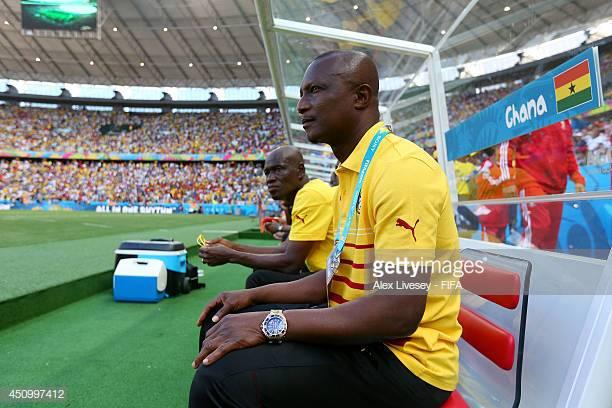 Kwesi Appiah at 2014 World Cup