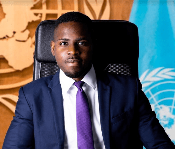 A man identified as Momo Bertrand said he has finally been hired by the United Nations (UN) after being rejected 500 times.