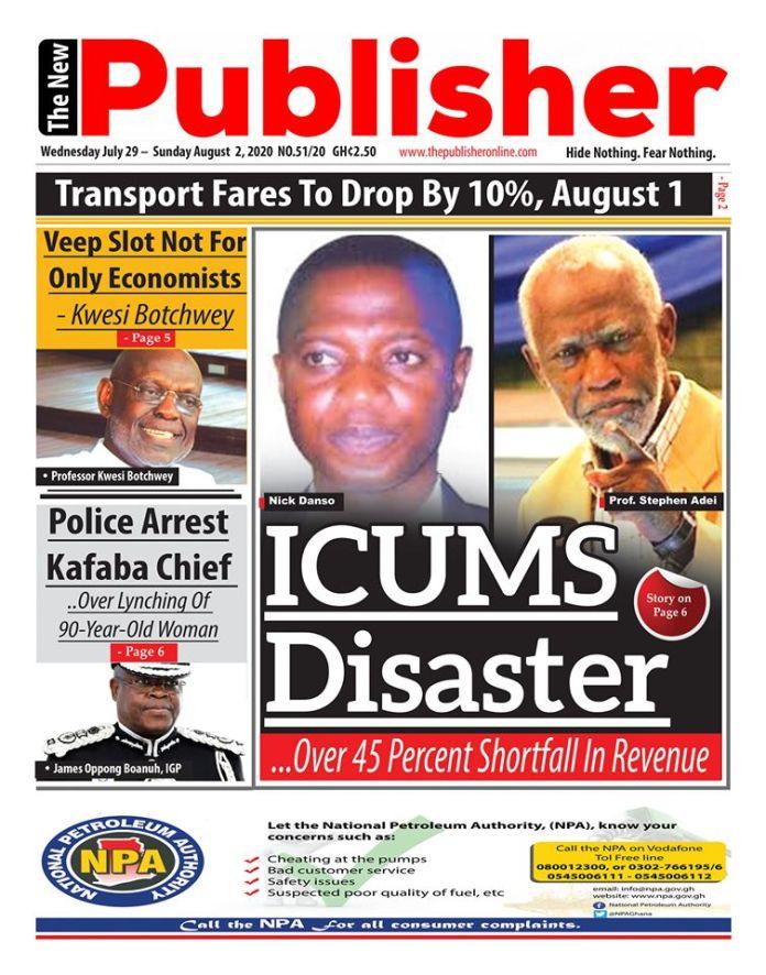 Newspaper Headlines: Wednesday, July 29, 2020 8
