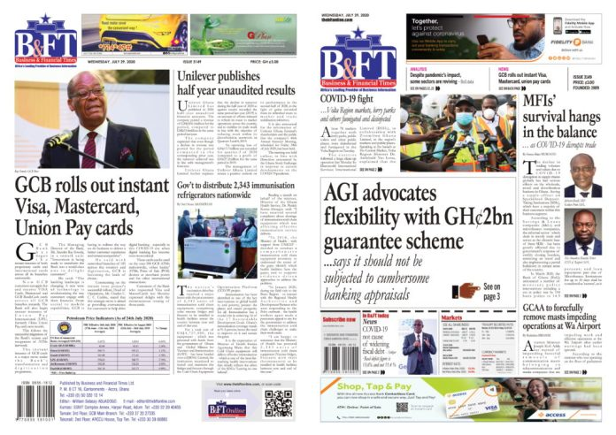 Newspaper Headlines: Wednesday, July 29, 2020 3