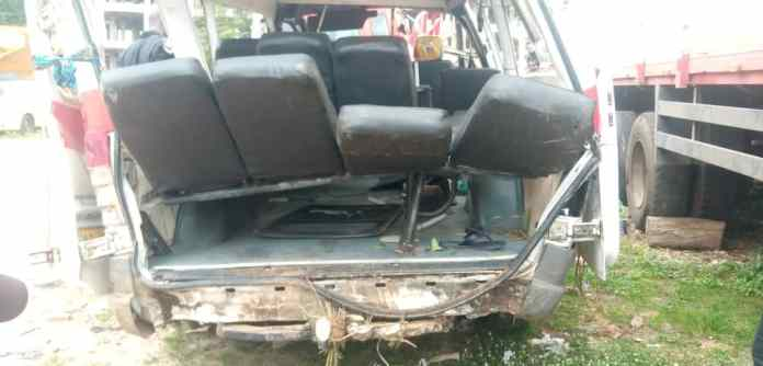 BREAKING: Two dead, many in critical conditions in Konongo-Kumasi highway accident [Photos] 2