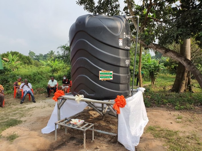 Tinkong residents gets portable water
