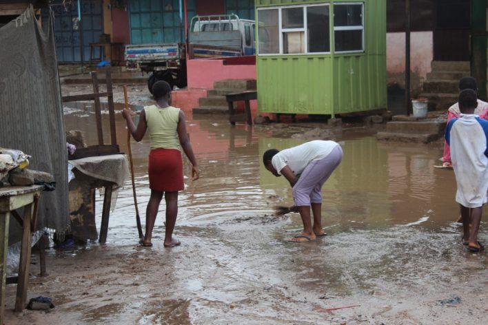 Dome Newtown flood   Photo by Patience Korkor Hesse / Adom News