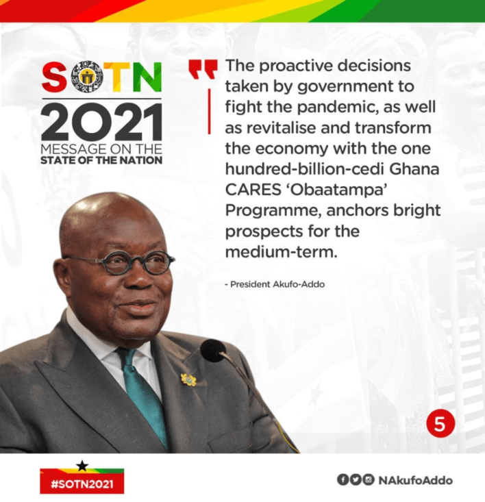 SONA: All Akufo-Addo's speech in infographics 6