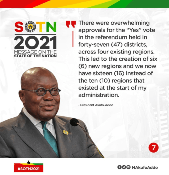 SONA: All Akufo-Addo's speech in infographics 8