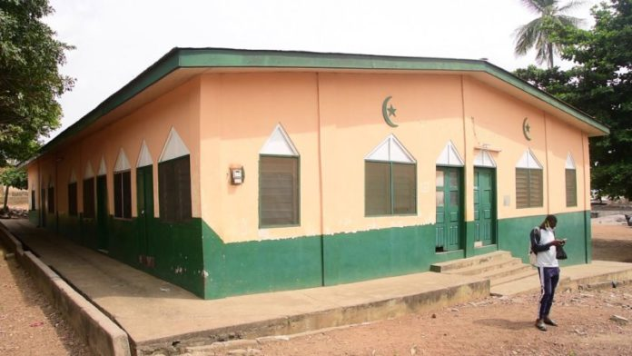 Security Council locks down Ho Central Mosque 4