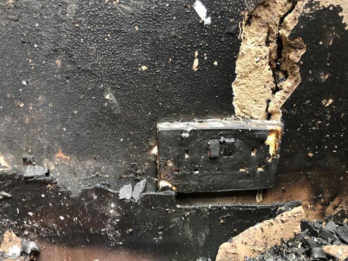 Fire ravages Zenith University [Photos] 3