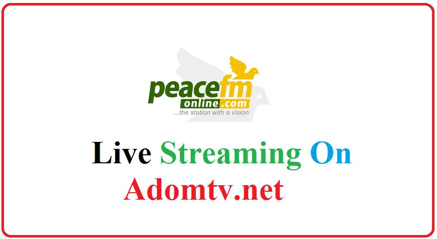 peace fm 104.3 Ghana live streaming
