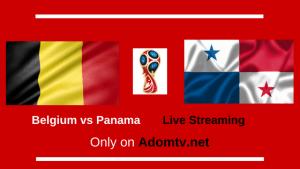 Belgium vs Panama Live Streaming