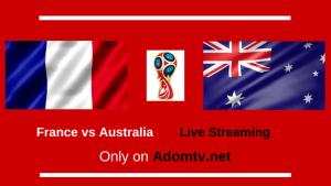 France vs Australia Live Streaming