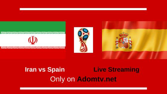 Iran vs Spain Live Streaming logo