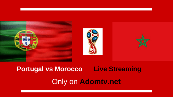 Portugal vs Morocco Live Streaming Logo