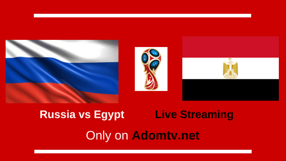 Russia vs Egypt Live Streaming logo