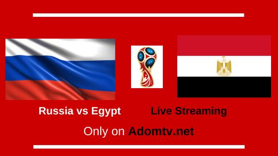 Russia vs Egypt Live Streaming logo