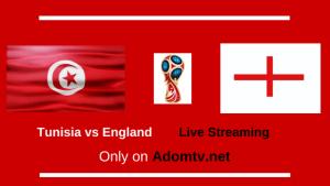 Tunisia vs England Live Streaming