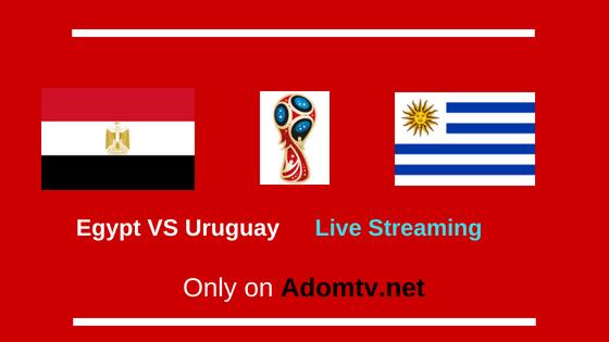 egypt vs uruguay live streamin g logo