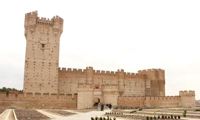 castillos españa mota