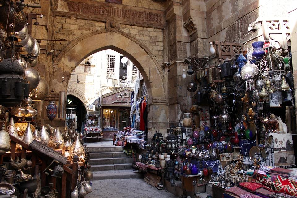 bazar el cairo egipto