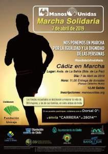 Marcha Solidaria Manos Unidas Cádiz