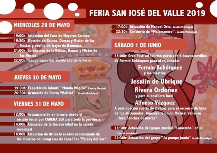 Feria de San José Del Valle 2019 Cádiz niños adondevoyconmifamilia a dónde voy con mi familia