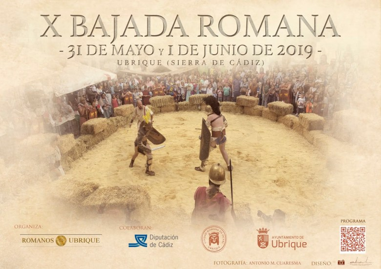 X Bajada Romana (Ubrique) Del 31 de Mayo al 01 de Junio de 2019 Cádiz niños adondevoyconmifamilia