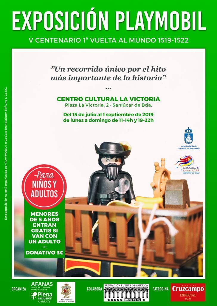 Exposicion Playmobil (V Centenario 1º Vuelta al Mundo) Sanlúcar de Barrameda