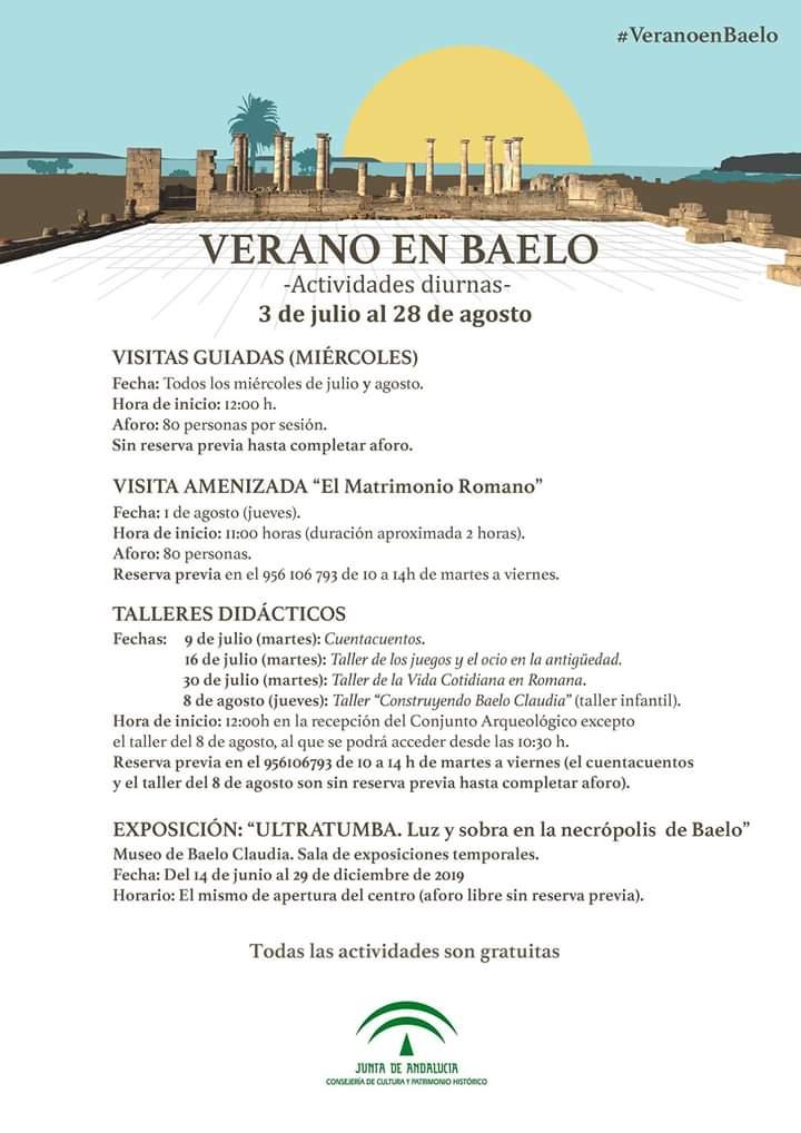 Verano en Baelo 2019 (Tarifa)