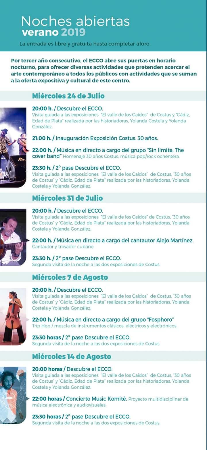 Noche Abierta 2019 ECCO (Cadiz)
