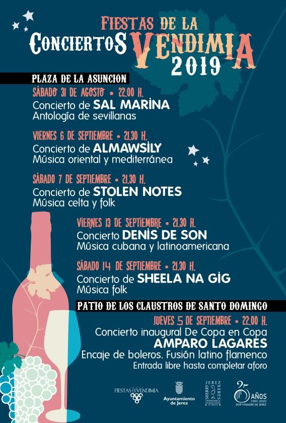 Fiesta de la Vendimia 2019 Del 31 de Agosto al 15 de Septiembre de 2019