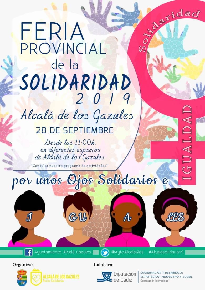 Feria Provincial de la Solidaridad, 28 Septiembre 2019 (Alcalá de los Gazules)