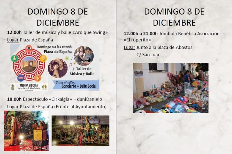 XV JORNADAS DE PUERTAS ABIERTAS Familia con Niños (MEDINA SIDONIA) Del 05 al 09 de Diciembre de 2019